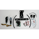 Tail Kit with Black/Clear Cat-Eye Turn Signals - 22-261L