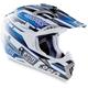 Black/Blue MT-X Helmet - 01102208