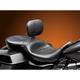 Black RT66 Seat w/Driver Backrest - LK-767BR