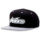 Silver/Black Imprint Hat - 1013-8505619