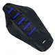Black/Blue Ribbed Seat Cover - 0821-1809