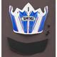 Visor for Shoei VFX-W Dash Helmet - 0245-6070-02