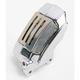 Chrome Left Front 4-Piston Brake Caliper - 1701-0374