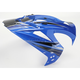 Blue Visor for Variant Salvo Helmets - 0132-0601
