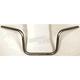 Medium Tall Z-Bar Style Chrome Handlebar - 650-03071