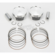High-Performance Forged Piston Kit - 3.875 in. Bore/9:1 Ratio - K2751