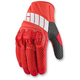 Red Overlord Mesh Gloves