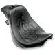 Flames Stitched Short Hop 2-Up XL with Driver Backrest Receptacle - YMC-619-01F