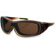 Brown Fade Zoe Convertible Sunglasses/Goggles - BZOE201
