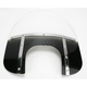 Memphis Fats 15 in. Windshield with 9 in. Headlight Opening for Big Nacelle Headlight - 2313-0050
