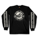 Black Circle Bike Long Sleeve T-Shirt