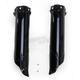 Black Lower Fork Cover Set for Inverted Forks - 2374060001