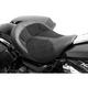 Black Leather BigIST Solo Air Seat - FA-DGE-0280