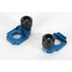 Blue Axle Block Sliders - DRAX-102-BL