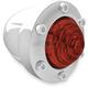 Chrome Rear Tracker Turn Signal Housing - 0207-2019-CH
