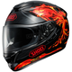 Black/Red/Yellow GT-Air Revive TC-1 Helmet