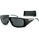 Shiny Black Defector Street Series Sunglasses - EDEF001AR