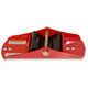 Bright Red Mounting Shoe for Powder Pro, Tri-Keel, Tri-Keel II, Ultra-Lite SLT and MoHawk Skis - 35-377