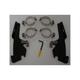 Batwing Black Trigger Lock Hardware - MEM8999