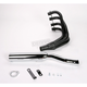 4-into-1 Black Header/Chrome Canister Style Exhaust System - 801-3601