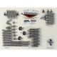 Polished Stainless Steel The Groove Engine Kit - DE6521GP