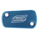 Blue Anodized Rear Brake Reservoir Cover - 3901B