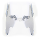 Polished Batwing Plate-Only Hardware - 2321-0261