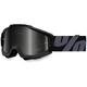 Black Accuri Sand Superstition Goggle w/Dark Smoke Lens - 50205-118-02