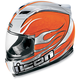 Airframe Claymore Chrome Helmet - 0101-3928