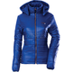 Womens Navy Blue Hooded Puffer Jacket