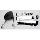Complete Backrest/Mount Kit with Touring Backrest - 34-2207-01