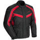 Black/Red Saber 4.0 Textile 3/4 Jacket