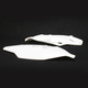 White Side Panels/Rear Number Plates - 2250420002
