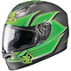 Green/Charcoal FG-17 Banshee MC-4 Helmet