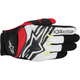 Black/White/Yellow/Red Spartan Gloves