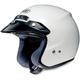 RJ Platinum-R White Helmet