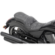 Black Pillow-Style Low-Profile Touring Seat - 0810-1607