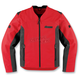 Red Leather Device Jacket
