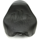 13 in. Wide Tattoo Solo Leather Seat w/Black Stitch - 806-12-0112