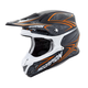 Black/Orange VX-R70 Blur Helmet