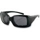 Black Womens Ava Convertible Sunglasses/Goggles - BAVA101