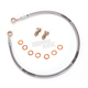 Rear Stainless Steel Braided Brake Line Kit - SU2885-1RP