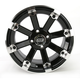 Black 393X Cast Aluminum ATV/UTV Wheel - 0230-0535