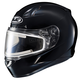 Black CL-17SN Helmet w/Frameless Electric Shield