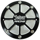 Matte Black/Aluminum Joker Racing Billet Points Cover - 16-591B