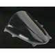 Clear Double Bubble Windscreen - 16-113-01