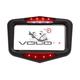 Black Brakeless Deceleration Indicator License Plate Frame - VL1001B