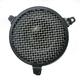 Black Plain Air Cleaner - 06-0114-03B