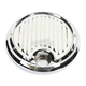 Chrome Dimpled Fuel Door Cover - C1130-C