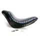 12 3/4 in. Wide Bare Bones Pleated Solo Seat - LK-007 PT